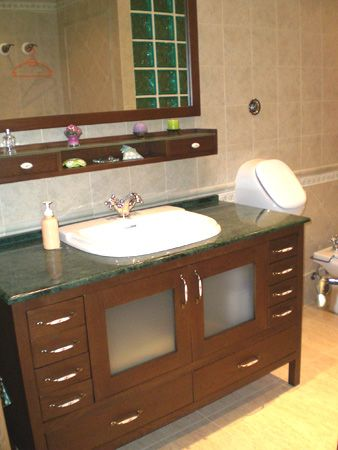 Centro de empresas obanca for Hacer mueble lavabo